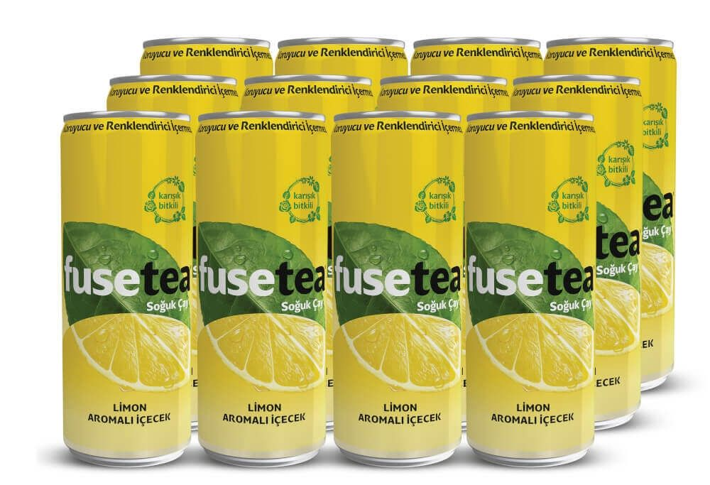 Fuse Tea Limon 330 ml 12'li